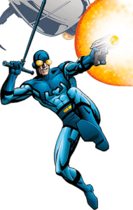 Ted Kord as the Blue Beetle II