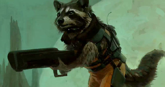 Rocket Raccoon casting