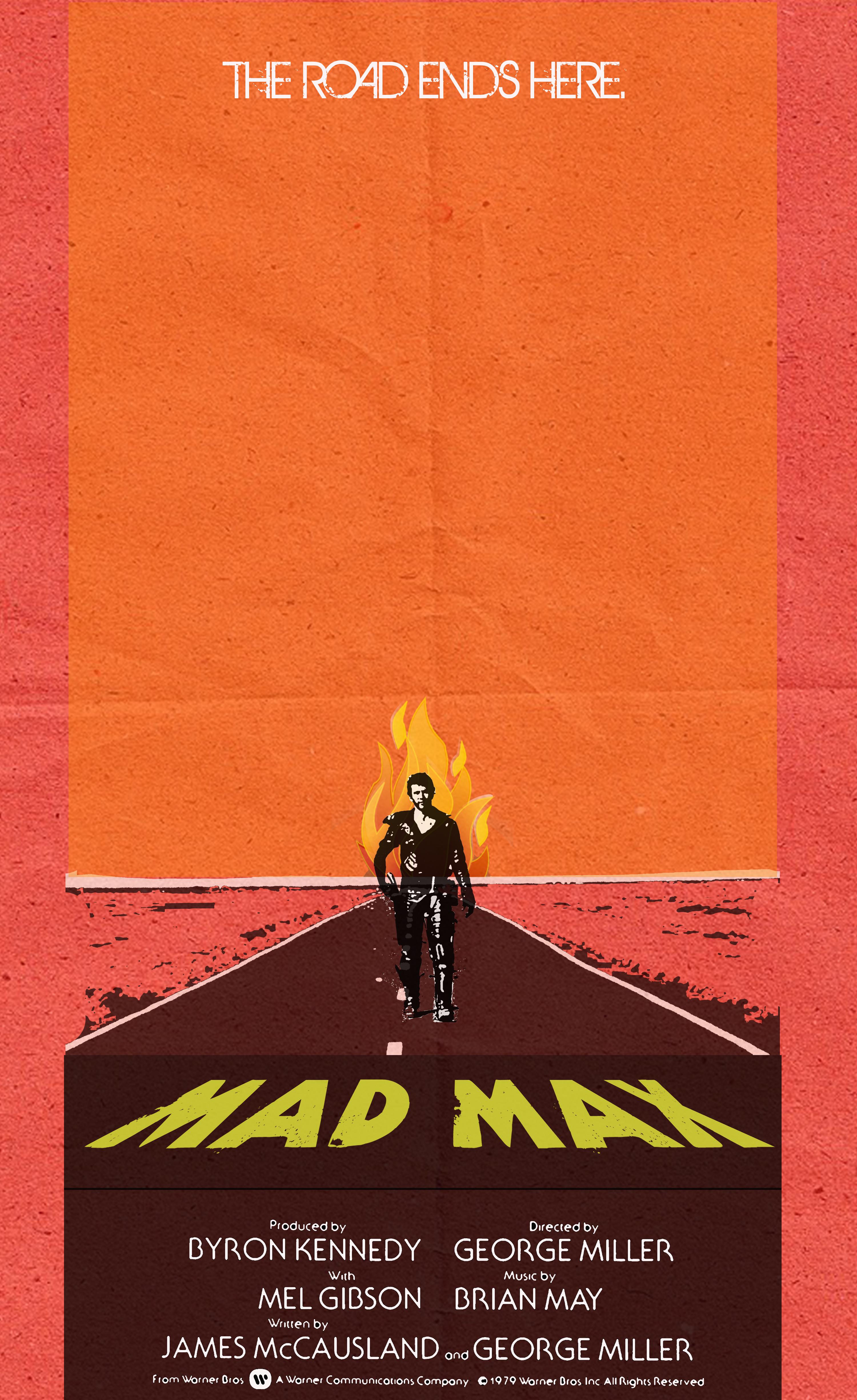 Célèbre Poster of the Week - MAD MAX (1980) TN11