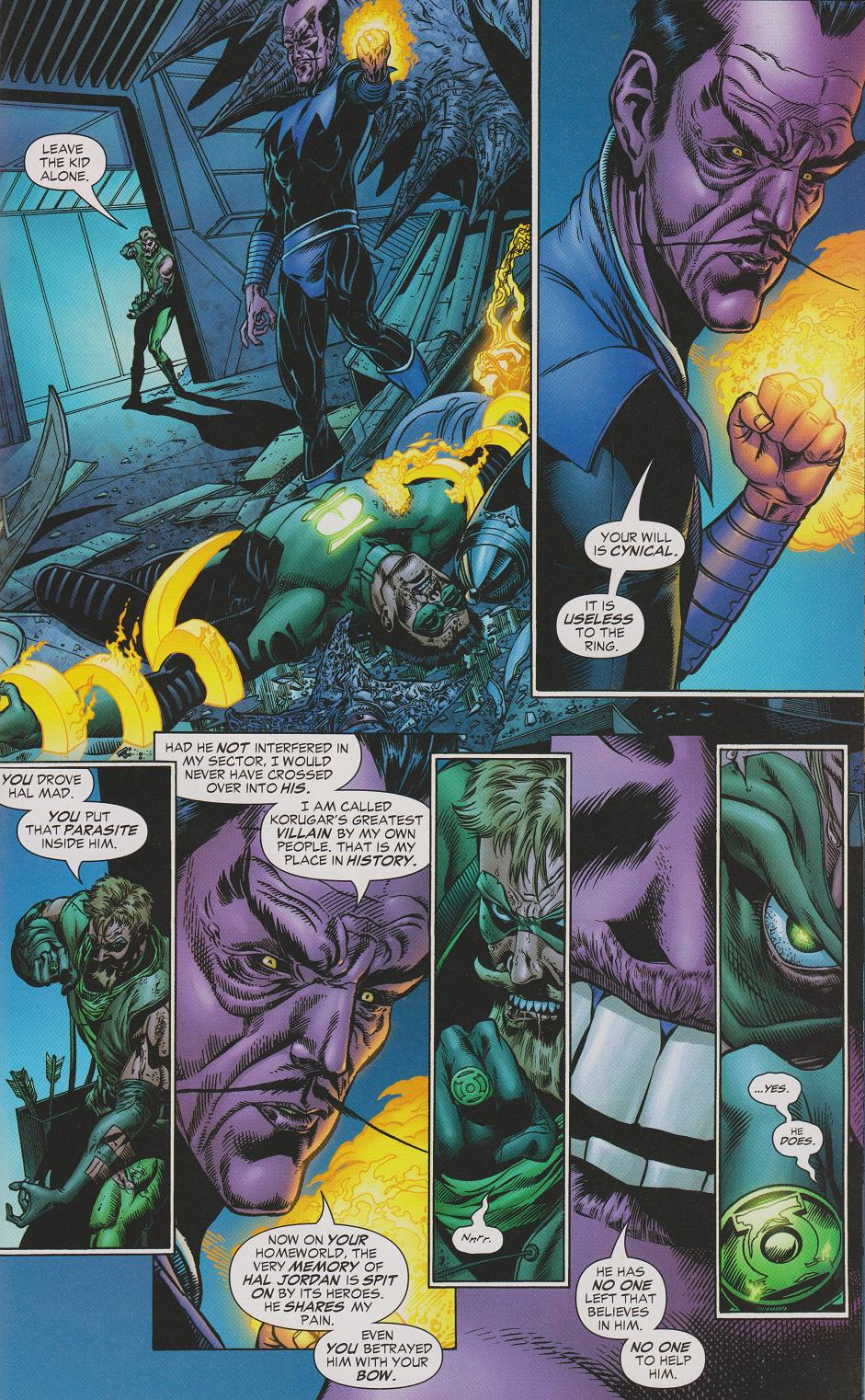 Green Arrow Vs. Sinestro