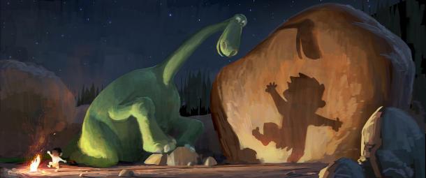 Pixar dinosaur movie