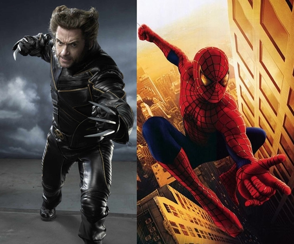 wolverine in spider-man