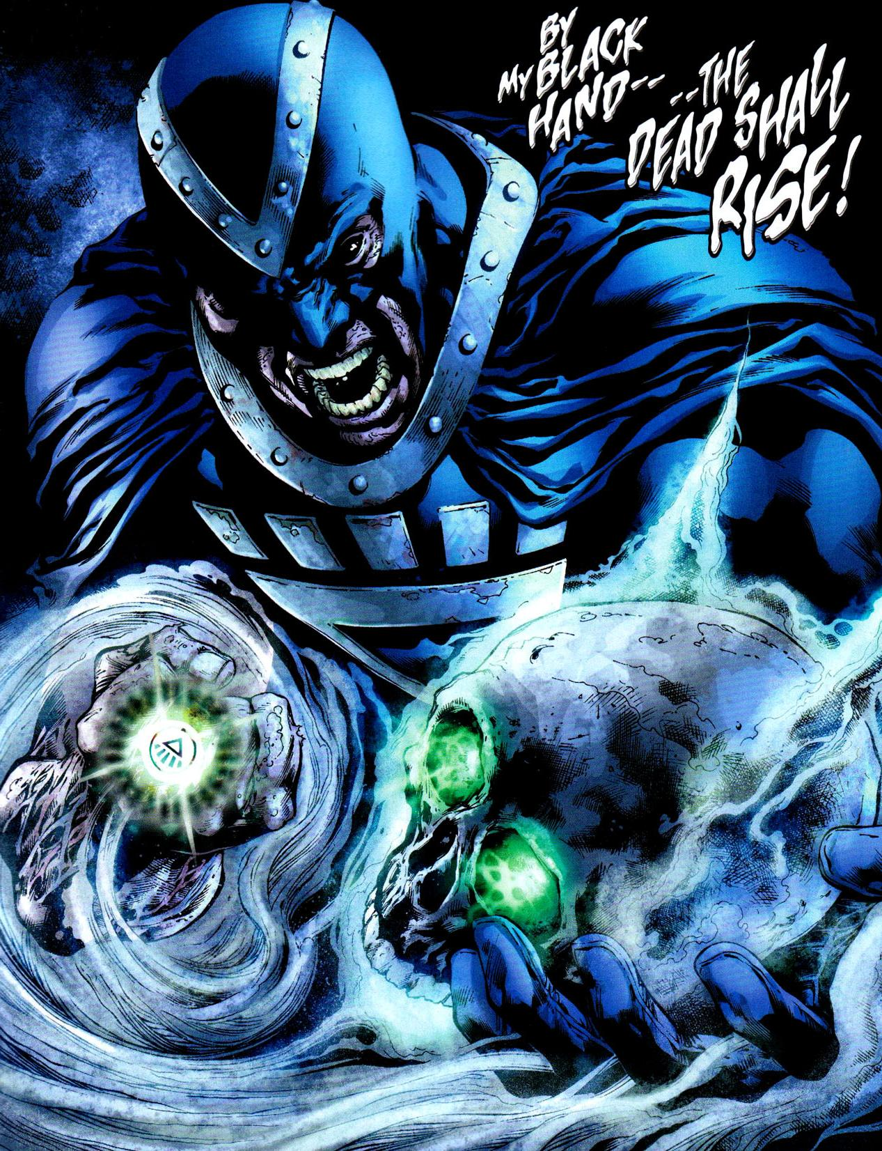 blackest night chronological order