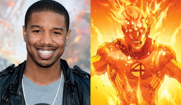 Human Torch Casting