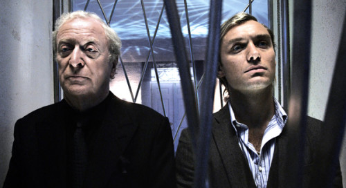 Sleuth movie image Michael Caine and Jude Law