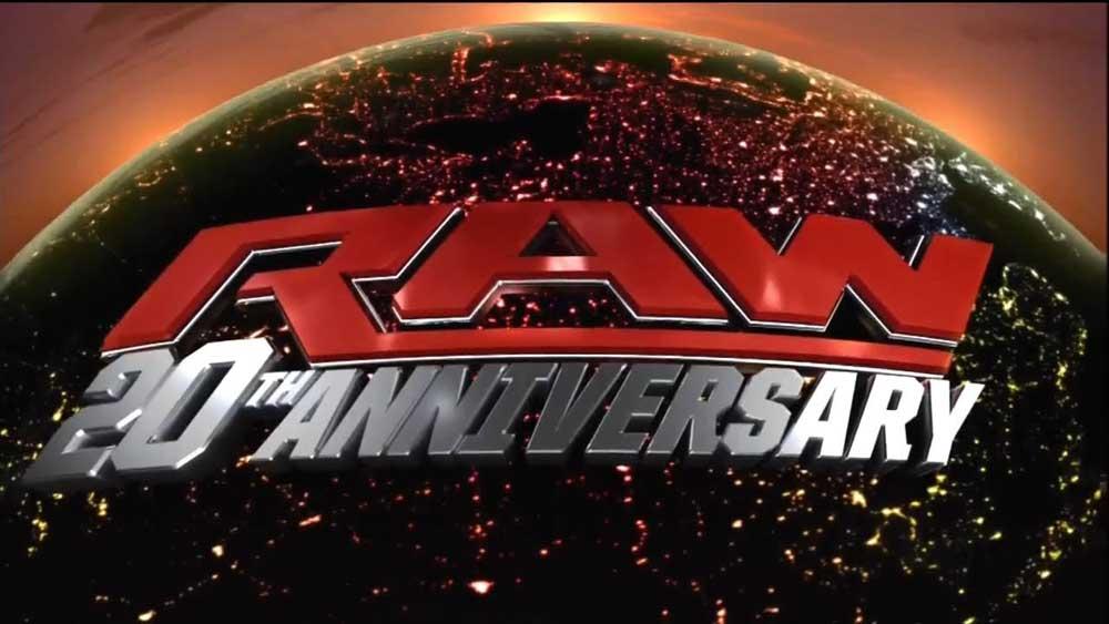 WWE RAW 20th Anniversary