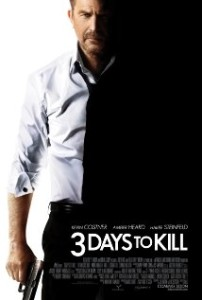 3 days to kill-poster