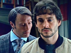 Hannibal whispering to will
