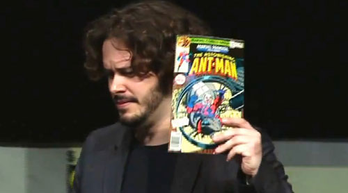 Edgar Wright Marvel