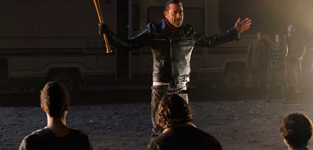 'The Walking Dead' Films 11 Different Negan Death Scenes